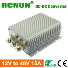 RCNUN @ New Type High Efficiency Step Up DC to DC Power Converter 12V to 48V 15A 720W DC-DC Voltage Regulator Waterproof
