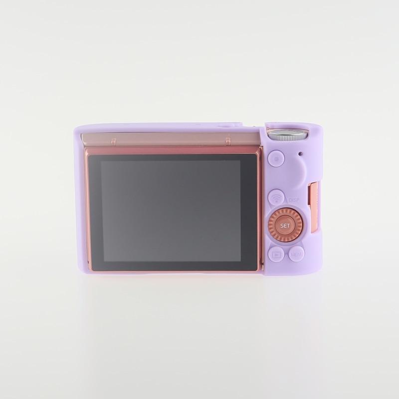 Soft Silicone Rubber Camera Bag Protective Body Case for Casio ZR5000 5500 5300-16