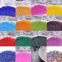 500pcs/lot 2mm Cheap DIY AB Beads Czech Glass Seed Beads Crystal Spacer Beads for Accessories Bracelet Necklace Jewelry Making(China)