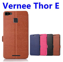 Original Vernee Thor E PU Leather Case Exclusive Cover For Vernee Thor E Dark blue/black colors Phone case