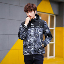 2017 New Spring Brand Clothing 3m Reflective Male Camouflage Jacket Fashion Young jacket plus American size