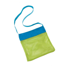 Urijk 1PC Storage Containers Object Collection Bags Sandy Beach Pouch Mesh Toy Storage Bag Beach Shells Pouch Tool Bag For Kids(China)