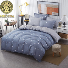 Medusa Triangles Nordic bedding set king queen double single size bed linen set