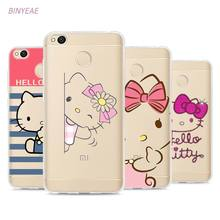 Buy BINYEAE Hello Kitty Style TPU Soft Phone Case Cover Xiaomi Mi Redmi Note A1 3 4 4X 4A 5A 5 Plus for $2.20 in AliExpress store