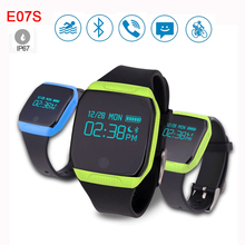 Waterproof Smart band E07S Fitness Tracker Bluetooth Wristband Health SmartWatch Pedometer Bracelet For iPhone Samsung Smartband