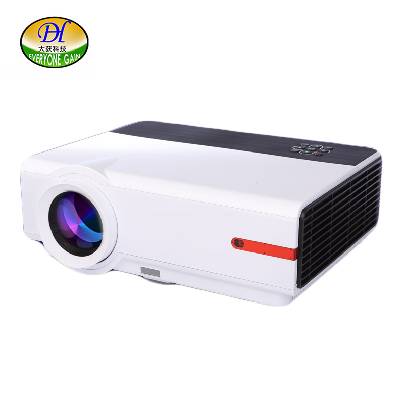 Everyone Gain TL123 Digital Projector 1080P LCD Projector HD Proyector 3200 lumens LED Video Projecteur For Home Projetor Beamer(China)