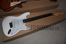 Top quality Guitar Strings 2014 Hot selling SSS Stratocaster Guitar 6 Strings Electric Guitar @12(China)