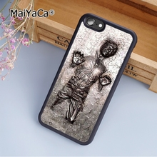 MaiYaCa star wars han solo in carbonite fashion soft mobile cell Phone Case Cover For iPhone 6 6S Custom DIY cases luxury shell(China)