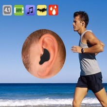 20PCS/lot Mini Bluetooth 4.1 Earphone Stereo Sports Earphone With Mic Fo Smart Mobile Phone Bluetooth Earphone+Tracked Free Ship