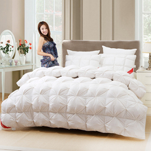 High quality luxury goose down Comforter winter thickening quilt wholesale