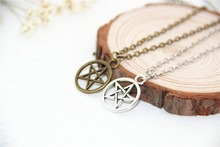 Buy Fashion Jewelry Vintage Charm Supernatural Dean necklace Men Women,original factory supply for $0.58 in AliExpress store