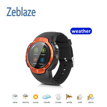 Smart Phone Watch 3G/2G WiFi Zeblaze Blitz Camera/ Browser/ Heart Rate Monitoring Android 5.1 Smart Watch GPS Camera SIM Card(China)