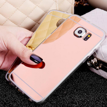 For Samsung galaxy S 3 4 5 6 7 Duos S3 S5 Neo S4 S6 S7 Edge Plus Luxury Mirror Mobile Phone Cover Case Silicon Ultrathin Glitter