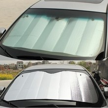 Car sunshade file Stoopable sun-shading thickening car sunshade sun-shading curtain aluminum foil bubble