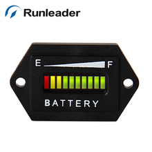 Lead acid storage battery 12V 24V Battery charge discharge indicator gauge with accuracy display and high quality