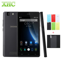 Original 3G DOOGEE X5 5.0 inch Android Smartphone MT6580 Quad Core 1GB + 8GB 1280X720 2400mAh Battery Dual SIM Mobile Phone