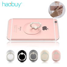 Haobuy Original Oval Fing Ring Holder Metal + PC Plaque Phone Stand Grip For Smartphone Universal Ring Pop Phone Stand Socket