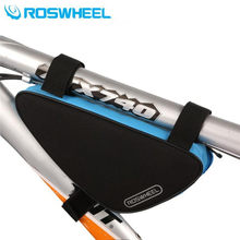 Roswheel Outdoor Sport MTB Mountain Road Bike Accessories Triangle Bag Bicycle Saddle Bag Cycling Top Front Frame Tube Bag