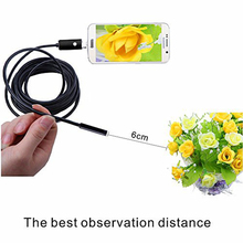 2 X 2 in 1 5mm Original USB Waterproof 2/5/10 Industrial Test Endoscope Lens Android Phone and PC for Samsung Galaxy s6 s7 Edge(China)