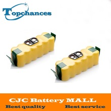 2x 14.4V 3500mAh Ni-MH Battery for iRobot Roomba Vacuum Cleaner for 500 560 530 510 562 550 570 581 610 650 790 780 532 760 770