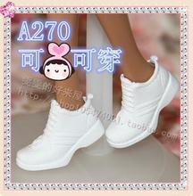 D113 Different styles for choose Casual High heels doll shoes flat shoes boots for Barbie 1:6 Doll Fashion Cute(China)