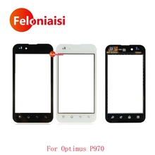 "Buy High 4.0"" LG Optimus P970 Touch Screen Digitizer Sensor Outer Glass Lens Panel Black White+Tracking Code for $5.50 in AliExpress store"