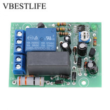AC 220V Timer Relay Delay Switch Module Input/Output Delay Off Switch Module Adjustable Timing Turn Off Board(China)