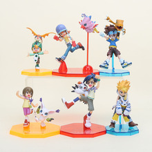 Digital Digimon toy ISHIDA YAMATO Gabumon TAICHI Agumon digimon adventure PVC Action Figure Model Collection Toy doll brinquedos
