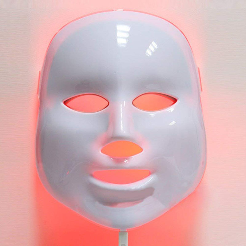 7 Colors LED Facial Mask Face Mask Machine Photon Therapy Light Skin Rejuvenation Acne Facial PDT Skin Care Beauty Mask 3