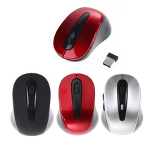 New Portable USB Mouse 2.4Ghz Wireless Optical Gaming Mouse Gamer Mice + Mini USB Receiver For Computer PC Laptop Promotion(China)