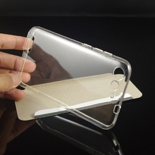 Soft Transparent TPU Gel Case Skin for ZTE Blade D6 / Blade V6 / Blade X7 Smartphone Protective Cover