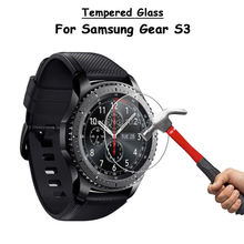 For Samsung Gear S3 Classic Smart Watch Clear Tempered Glass Screen Protector Ultra Thin Explosion-proof Protective Film