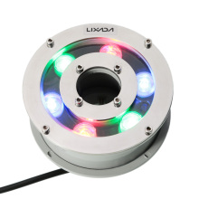 5W 12V IP68 Waterproof RGB colors LED Underwater Light night Lamp Fountain Landscape Spotlight for Outdoor Swimming Pool