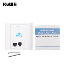300Mbps In Wall WIFI Access Point Wireless Router With PoE RJ45&RJ11 Port Access Control System Work As AP Router WIFI Repeater(China)