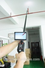 Telescopic pole video portable detection chimney / wall / roof / pipe inspection camera V5-TS1308D(China)