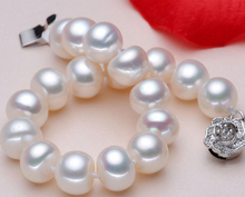 DYY+++430  Counter genuine 9-10mm natural formation of freshwater pearl bracelet genuine light flawless