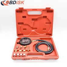TU-11A Wave Box Pressure Meter Oil Pressure Tester Gauge Test Kit Garage Tool TU-11A Auto Pressure Tester(China)