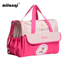 Mummy Bag Bottle Storage Multifunctional Waterproof Separate Bag Nappy Maternity Handbag Baby Tote Diaper Organizer(China)