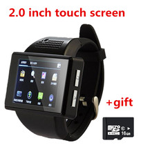 AK2 Smart Watch Cell Phone Android 4.1  2.0 Inch Touch Screen Clock phone with sim card  2.0 MP WiFi FM GPS PK DM98 X01 Z01