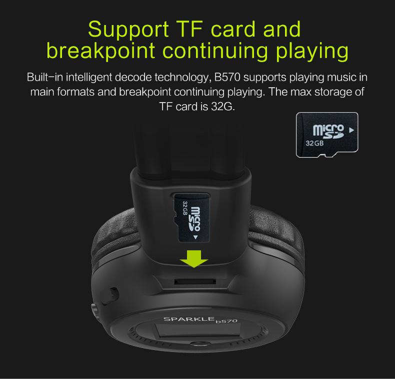 Zealot B570 Bluetooth Headphone -10