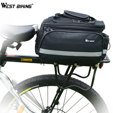 Buy WEST BIKING Cycling Bicycle Back Rack+Bag+Raincover Set Cycling DH MTB Luggage Alloy Bike Cycle Cargo Bag, Rear Shelf+Raincover for $57.20 in AliExpress store