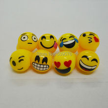 Free shipping 24pcs/lot led finger light Light-Up Emoji Jelly Rings Emoticon Flashing LED Emotions Favors Blinking(China)