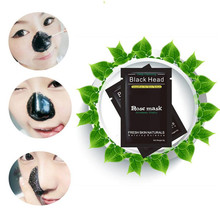 1PC lackhead Remover Black Mud Deep Cleansing Purifying Peel Acne Face Mask High Quality Mineral Mud Nose Blackhead Pore Cleans