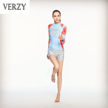 Two-piece Long Full Sleeves Shorts Breathable Quick Dry Gym Outdoor Sportswear Training Running Jogging Women's Yoga Sets