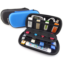 New Digital Products Pouch Travel Storage Bag for USB Flash Drive, Health USB Key, SD Memory Card Case, Phone, Bank Card GH001(China)