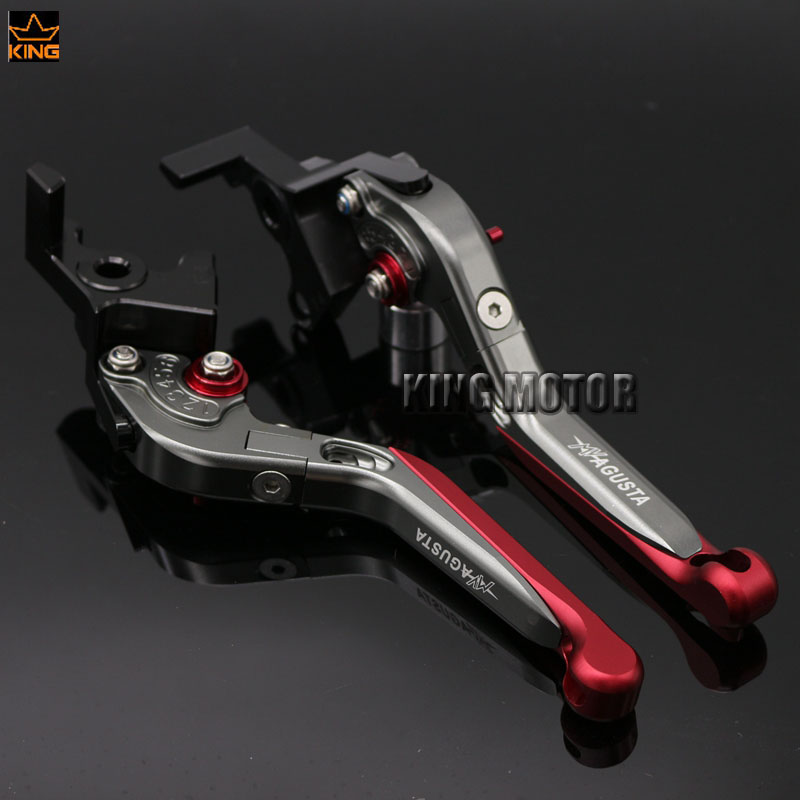 For MV AGUSTA F4 312RR 1078 2008-2012 Motorcycle Accessories Folding Extendable Brake Clutch Levers<br>
