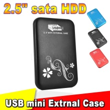 High Speed USB 3.0 to SATA 2.5 Inch HDD Cover Case Hard Driver DIsk SATA External Storage Enclosure Aluminum Box HDD Caddy 2.5''