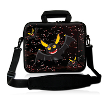 "Cool Cute Bat  9"" 10"" 10.2"" 10.1 Inch Professional Laptop Shoulder Case Notebook Netbook Bag Cover Star"