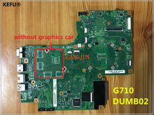 KEFU Cheap system board DUMB02 Laptop motherboard For Lenovo G710 Motherboard Free Shipping(China)