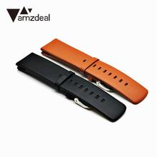 Popular Design Soft Eco-friendly Business Style Bracelet Belt Replaces Leather strap watch band Watch Accessories for AMAZFIT(China)